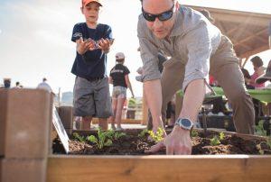 Grow-A-Row-garden-digging